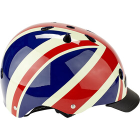 Nutcase Street Casque Enfant, union jack